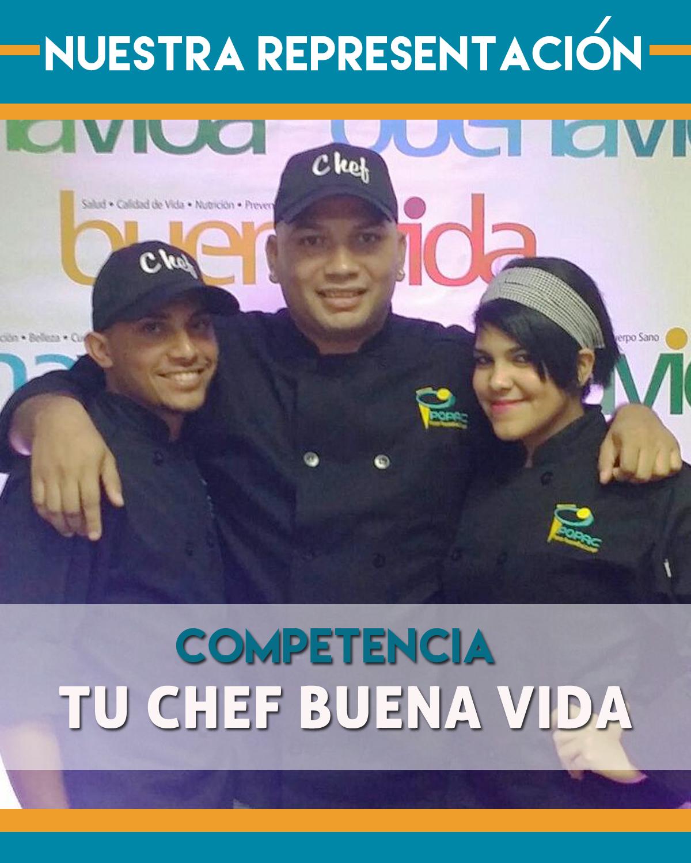 Delegación de Popac en competencia Tu Chef BuenaVida
